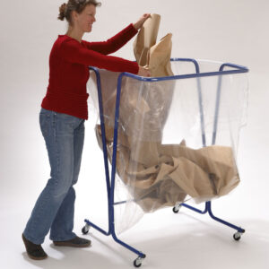 Support sac poubelle 600 litres